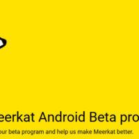 MeerKat anuncia su inminente llegada a Android buscando betatesters para su aplicación