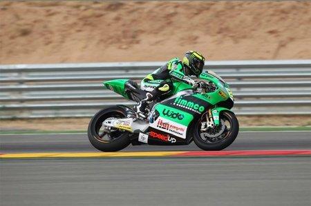 El mejor tiempo de Moto2 para Iannone