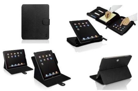Dos fundas para el iPad 2 de macally: ShellStand 2 y BookStandPro 2