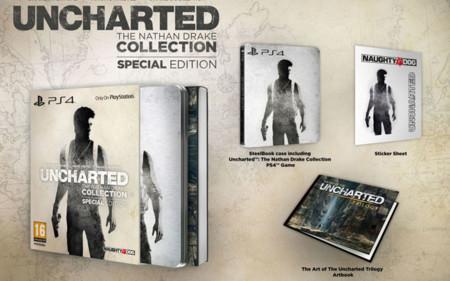 Uncharted: The Nathan Drake Collection tendrá edición especial en Europa