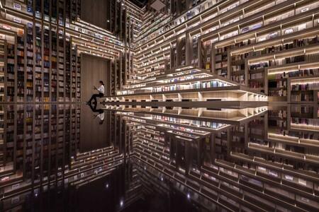 """Cine, librería y espacio instagramer: la """"catedral"""" con la que China quiere salvar el ocio del futuro"""