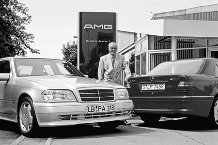 Hans Werner Aufrecht Mercedes C 36 AMG