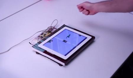 Toffee permite que controles tu dispositivo con solo tocar la mesa