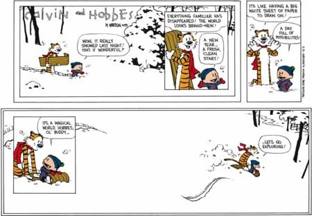 La última tira de Calvin y Hobbes
