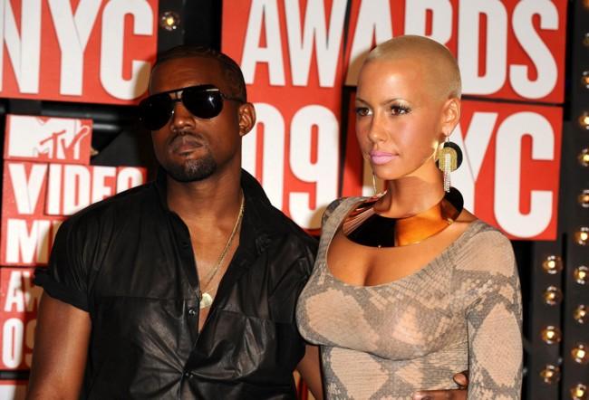 Kanye y Amber