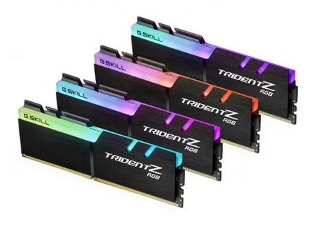 G.Skill Trident Z RGB DDR4 3200 PC4-25600 64GB 4x16GB CL16