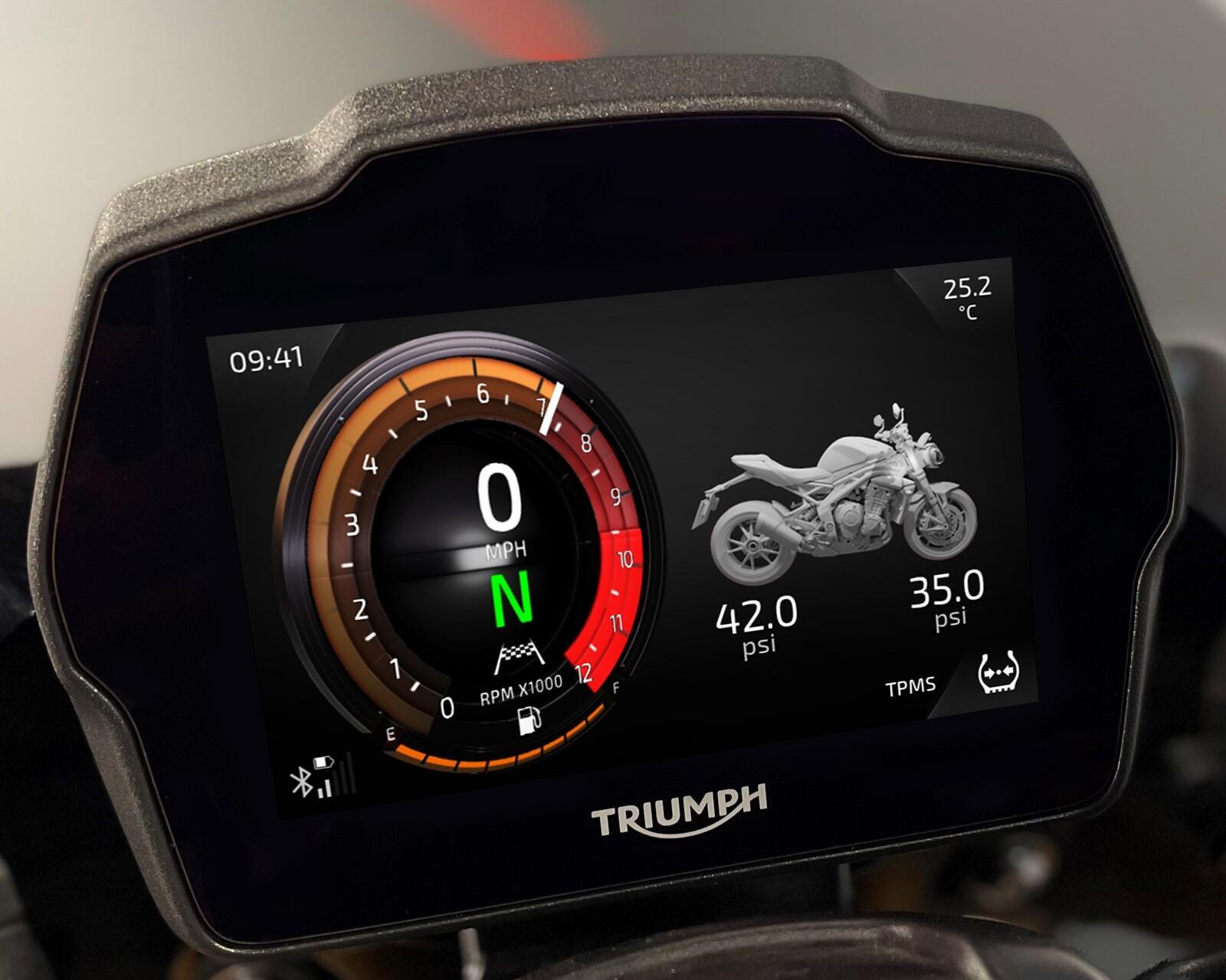 Foto de Triumph Speed Triple 1200 RS 2021 (11/71)