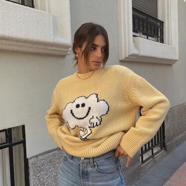Susana Molina tiene el jersey de punto más abrazable de la temporada y lo hemos encontrado