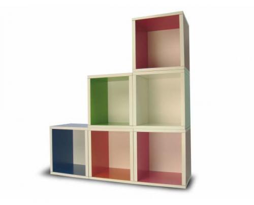Muebles modulares de way basics for Muebles estanterias modulares