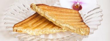 El sándwich más caro del mundo es de queso, está bañado en oro y cuesta 214 dólares