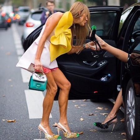 Duelo de fashionistas: Delpozo gusta a todas, ¿Anna o Lauren?