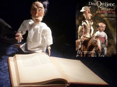 """Teatro infantil: """"Don Quijote galopa por sus sueños"""""""