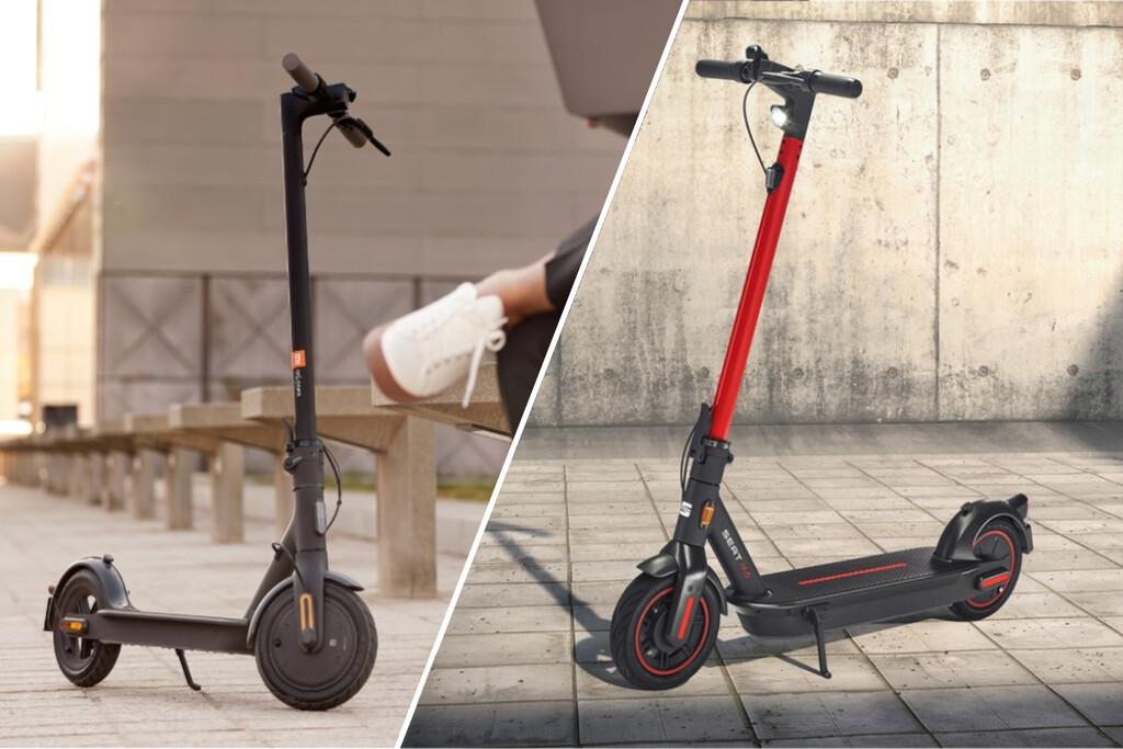 SEAT MÓ eKickScooter 65 vs Xiaomi Mi Electric Scooter: así queda el patinete eléctrico de SEAT frente a sus rivales de Xiaomi