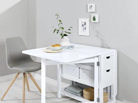 Lidl lanza una mesa abatible similar a la de Ikea (aunque algo más económica)