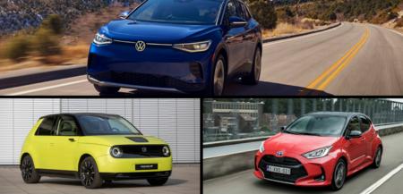 ¿Con cuál te quedas? Listos los tres finalistas para mejor auto del 2021 y dos de ellos son eléctricos