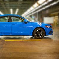 Honda da luz verde a la producción del nuevo Civic Hatchback 2022 en Estados Unidos