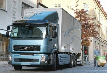 Volvo FE Hybrid, camión híbrido (diésel-eléctrico)