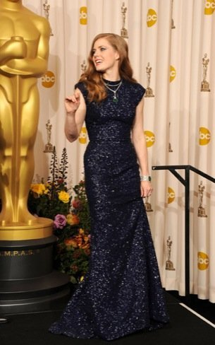 Amy Adams zapatos Oscar 2011