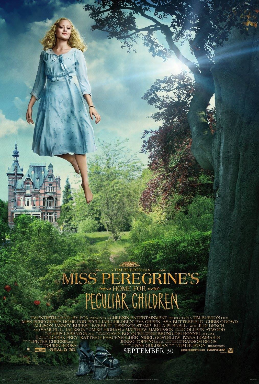 Carteles de 'El hogar de Miss Peregrine para niños peculiares'