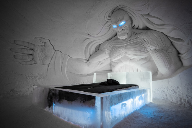 Snowvillage Thrones 2017 2018 Whitewalker 00001