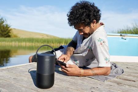 El altavoz Bose Portable Home Speaker con AirPlay 2 está rebajado en Amazon a 322,89 euros