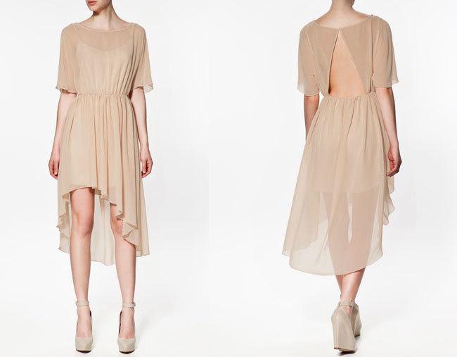 Vestido de Zara Primavera-Verano 2012