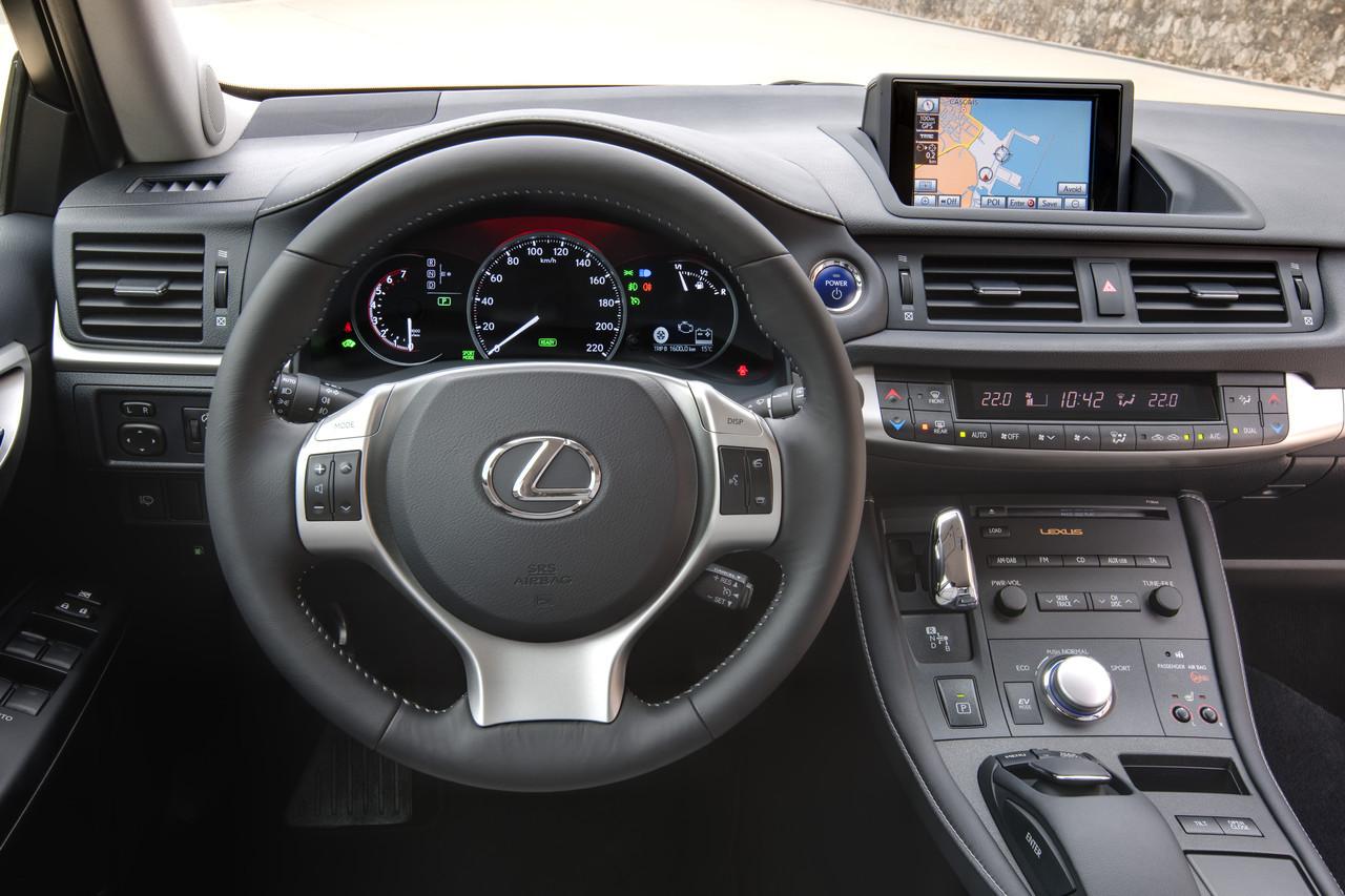 Foto de Lexus CT 200h (43/164)