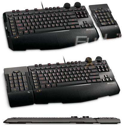 Microsoft Sidewinger X6, teclado para gamers