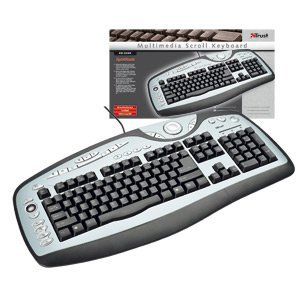 Trust Multimedia Scroll Keyboard KB-2200