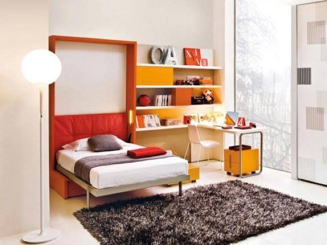 Camas ocultas, la solución perfecta para dormitorios juveniles
