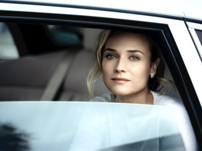 La luminosidad de Diane Kruger después de haberse sometido al tratamiento Hydra Beauty Flash de Chanel