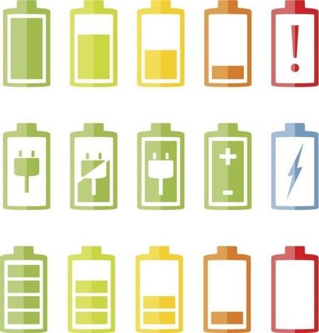 Bateria Iconos