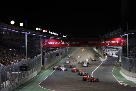 La GP2 Asia Series tendrá su carrera nocturna