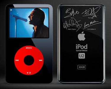 El iPod de U2 también actualizado