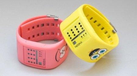 El reloj Nooka de Bob Esponja y Patricio