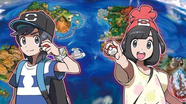 Pokemon Sol Luna Entrenadores