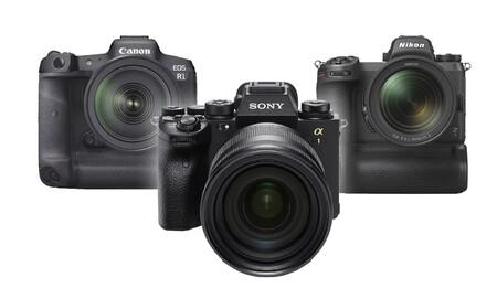 Sony A1 Canon Eos R1 Nikon Z1 02