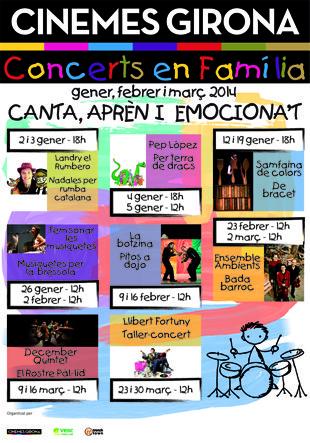 """""""Conciertos en familia"""" en Cinemes Girona (Barcelona): los niños disfrutarán de la música a la vez que aprenden"""