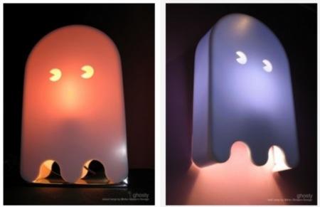 Lámpara de los fantasmas de PacMan