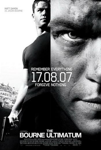 Dos nuevos posters de 'El Ultimátum de Bourne'