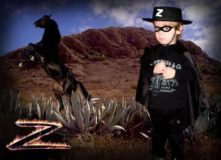 Disfraz del Zorro por 1,95 euros