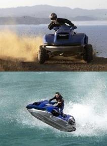 Quad y moto de agua en uno, el anfibio definitivo