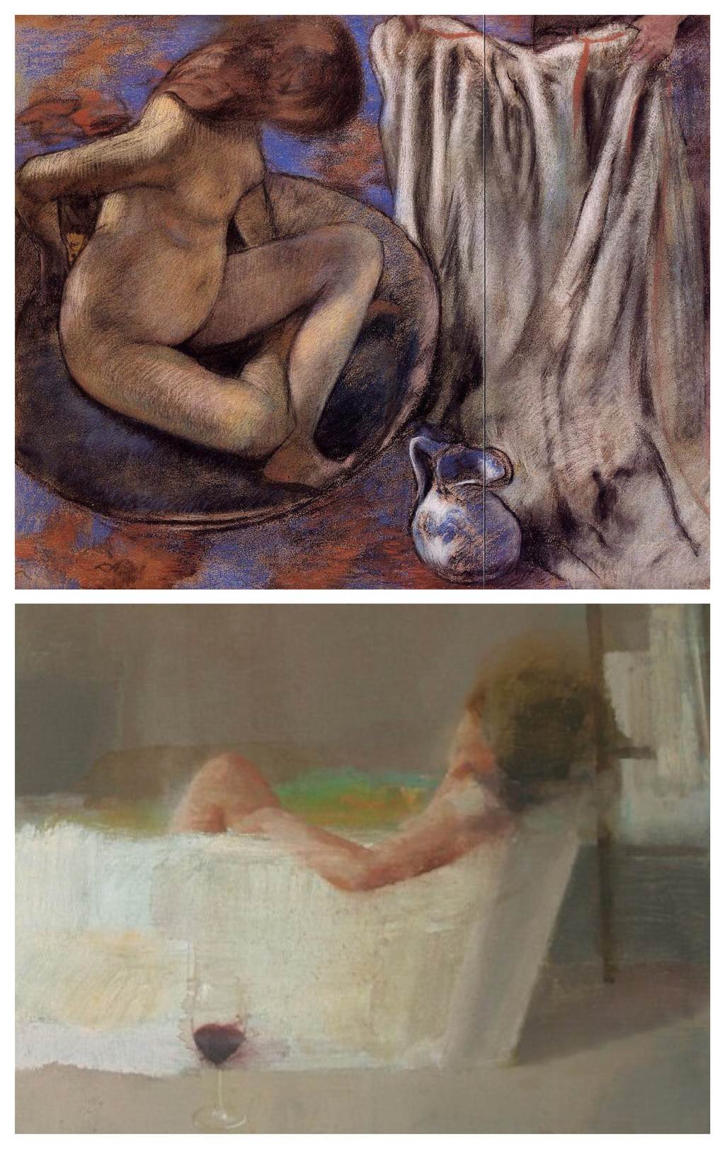 Collage Edgar Degas Alejandra