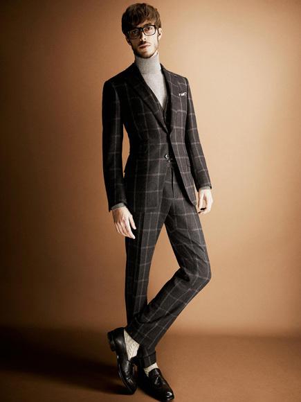 Elegancia al puro estilo de Tom Ford en su colección Otoño-Invierno 2013/2014