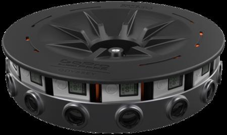 GoPro Odyssey, el anillo de cámaras de RV, aparecerá en noviembre por 15.000 dólares