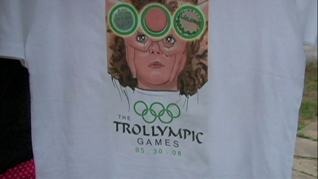 Camiseta de los Trollympic games
