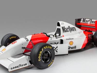 El mítico Mclaren MP4/8A de Ayrton Senna sale a subasta: prepara al menos 5 millones de euros