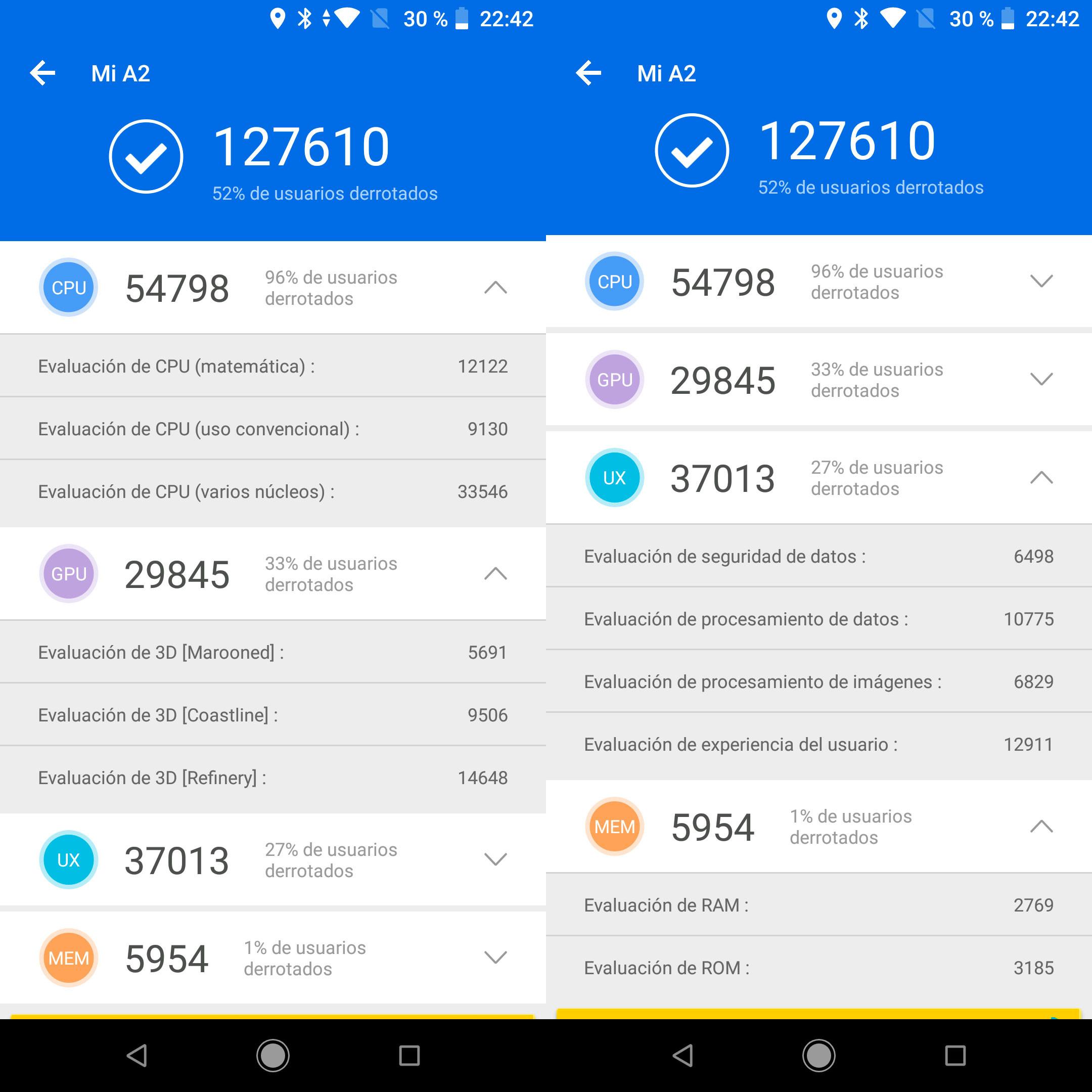 Foto de Xiaomi Mi A2, benchmarks (1/4)