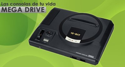 Mega Drive, las consolas de tu vida