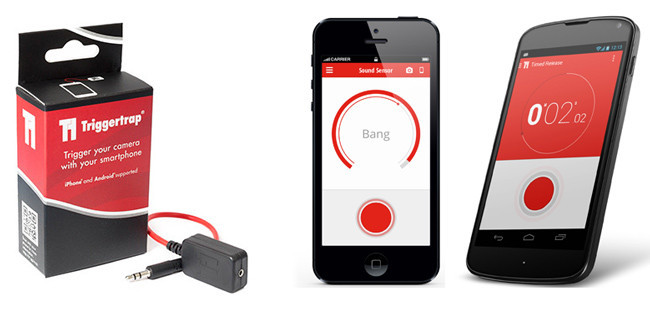 Triggertrap, controlando nuestra cámara a través de dispositivos iOS o Android